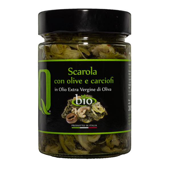 Scarola_Indivia_Carciofi_Olive_Bio_300gr_Quattrociocchi